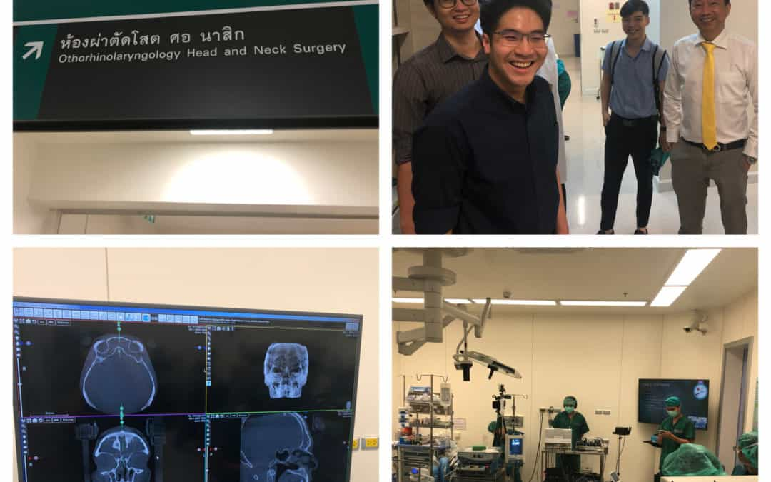 Working with Thailand's top sinus specialist and surgeons