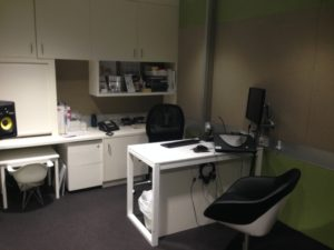 Audiology Booth. Neurosensory Sydney ENT Clinic