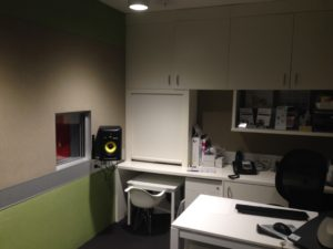 Audiology Booth Neurosensory Sydney ENT Clinic